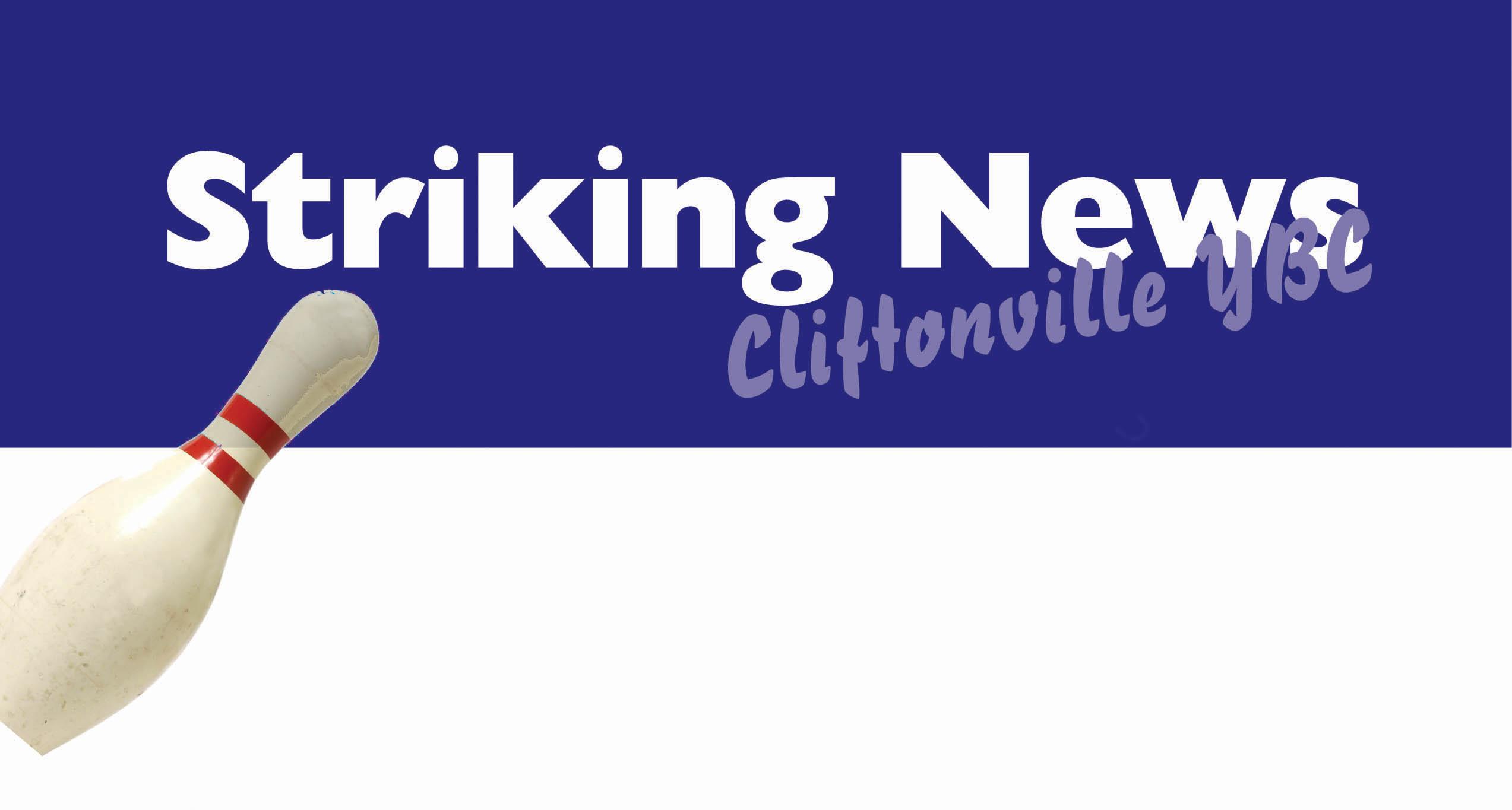 Cliftonville YBC's regular Newsletter is called Breaking News ...